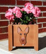 Pharoah Hound Planter Flower Pot