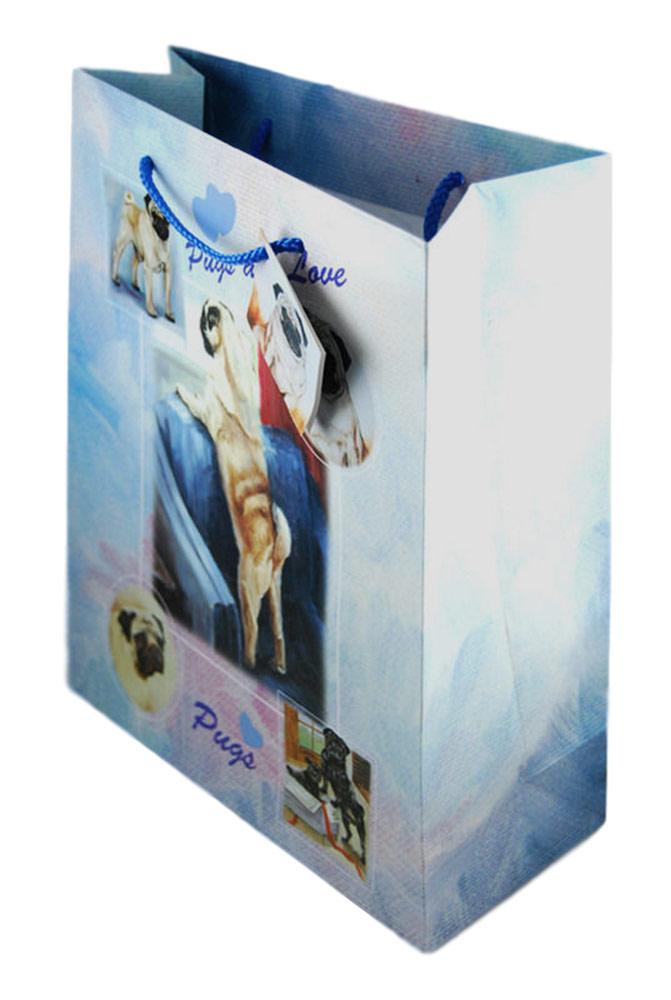 Pug Gift Bag