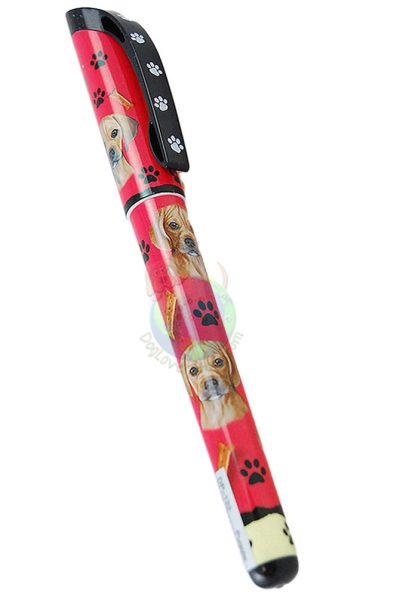 Puggle Writing Pen Red in Color