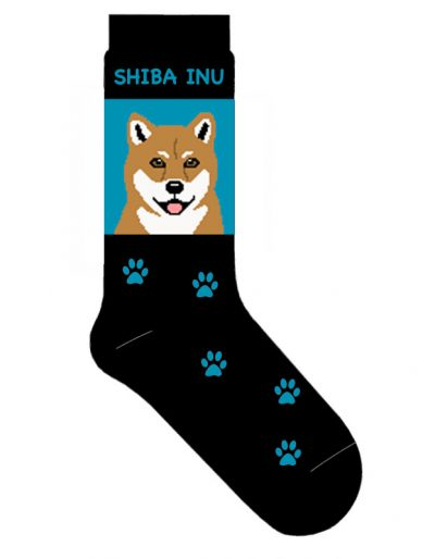 Shiba Inu Socks Lightweight Cotton Crew Stretch