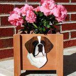 Saint Bernard Planter Flower Pot 1