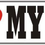 I Love My Samoyed Dog Bumper Sticker 1