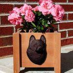 Schipperke Planter Flower Pot 1