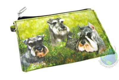 Schnauzer-Dog-Bag-Zippered-Pouch-Travel-Makeup-Coin-Purse-400705297389