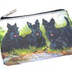Scottish-Terrier-Dog-Bag-Zippered-Pouch-Travel-Makeup-Coin-Purse-400705297627