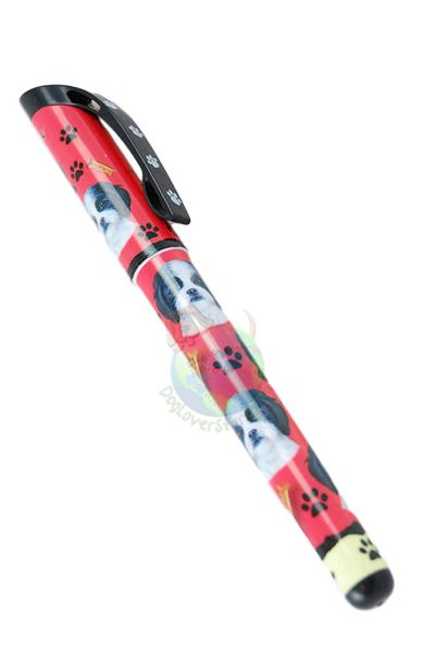 Bernese Mountain Dog Pen Replaceable Ballpoint Black Ink