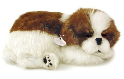 Shih Tzu Perfect Petzzz Breathing Dog