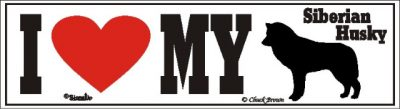 Siberian Husky_dog_love_bumper_sticker