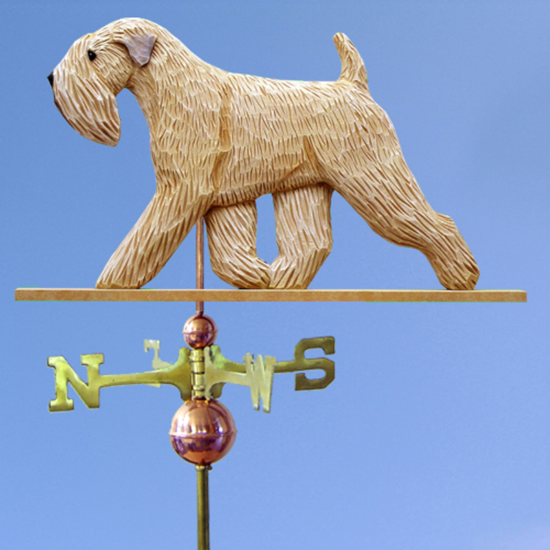 Soft Coated Wheaten Terrier Weathervane