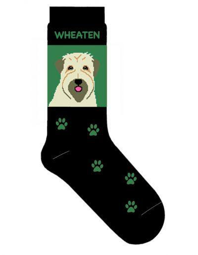 Wheaten Terrier Socks