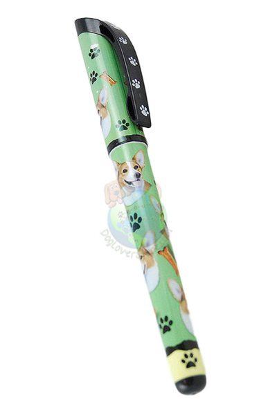 Corgi Pembroke Writing Pen Green in Color