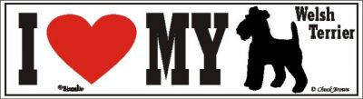Welsh Terrier_dog_love_bumper_sticker