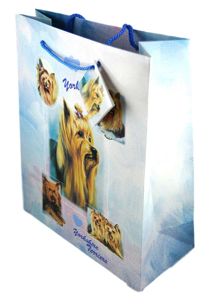 Yorkie Present Gift Bag