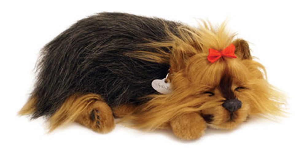 Yorkie Perfect Petzzz Breathing Dog