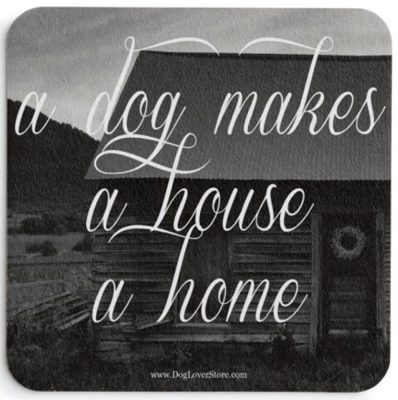 A Dog Makes a House a Home