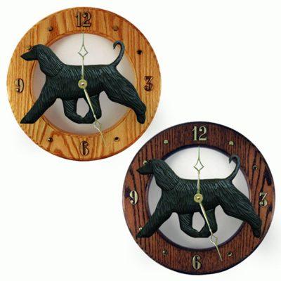 afghan-clock-wood-black