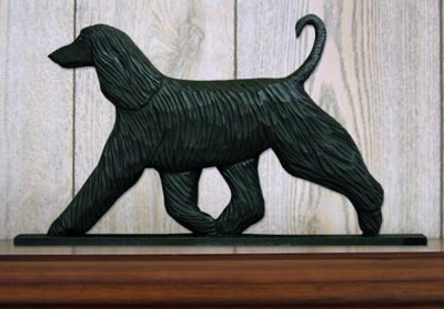 afghan-figurine-plaque-wall-display-black