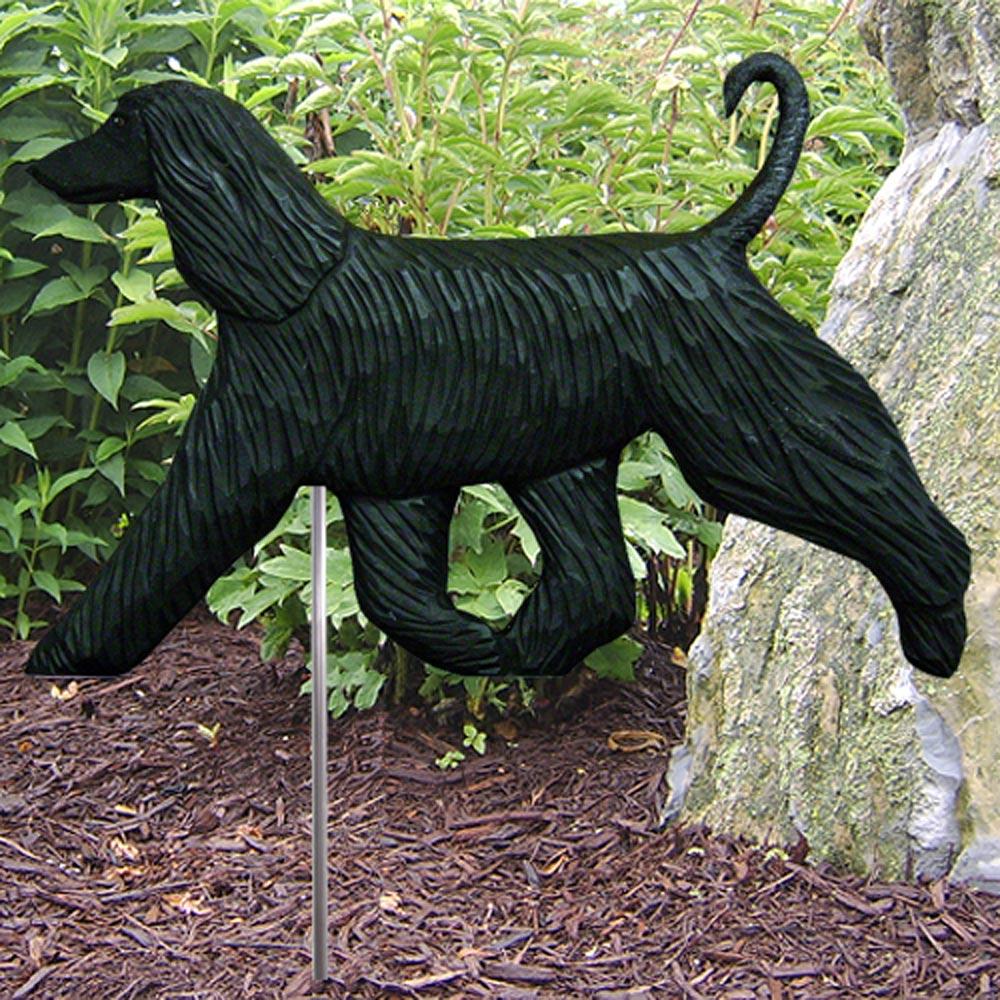 afghan-garden-sign-figurine-black