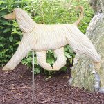 afghan-garden-sign-figurine-cream