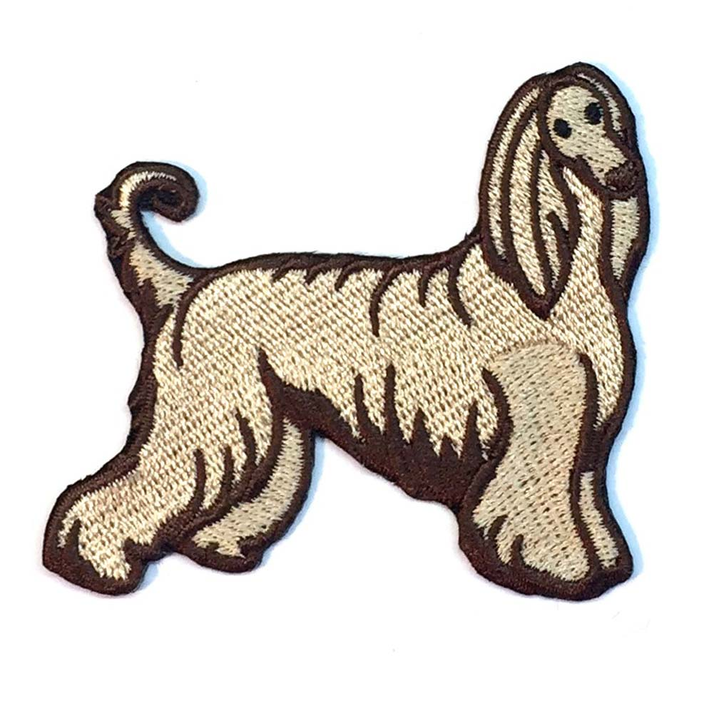 Afghan Hound Patch