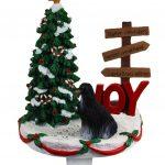 afghan-hound-stocking-holder-black