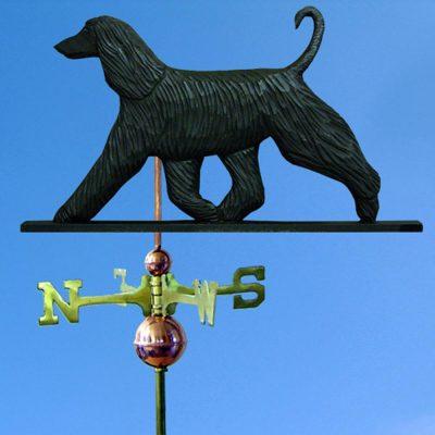 afghan-weathervane-black