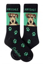 Airedale Socks Green in Color