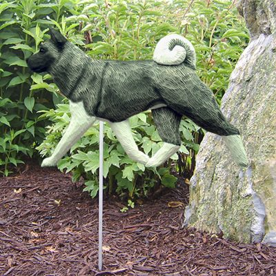 akita-garden-stake-sign-gray