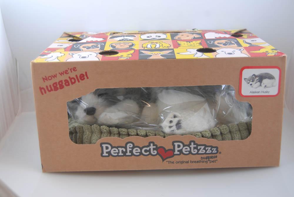 Alaskan Husky Perfect Petzzz Life Like Stuffed Animal Breathing Dog