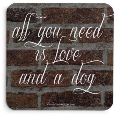 Pug Indoor Dog Breed Sign Plaque - A House Is Not A Home 5x5 Black + Bonus Coaster