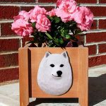 American Eskimo Planter Flower Pot 1