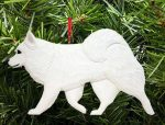 American Eskimo Tree Ornament