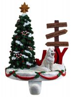 American Eskimo Stocking Holder Hanger