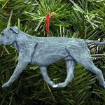 American Staffordshire Terrier Ornament Blue 1