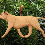 American Staffordshire Terrier Ornament Fawn 1