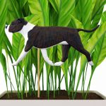 american-staffordshire-terrier-uncropped-brindle-white-planter-stake