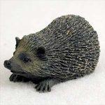 Hedgehog Mini Resin Hand Painted Wildlife Animal Figurine