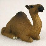 Camel Mini Resin Hand Painted Wildlife Animal Figurine Dromedary