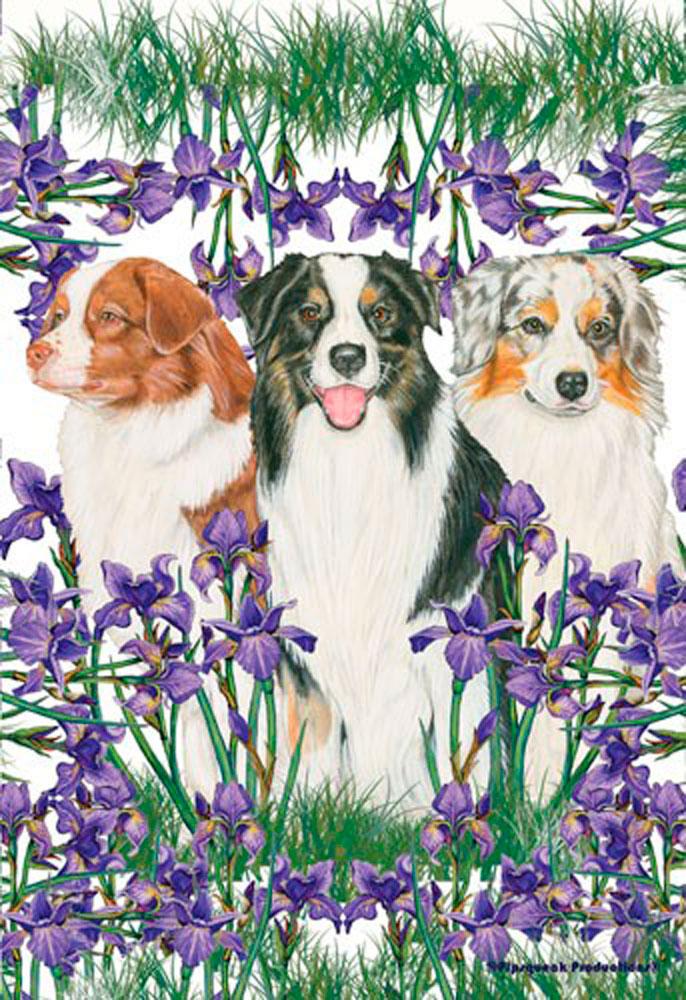 dog garden wind spinners