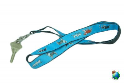 Australian Shepherd Lanyard Key Holder Badge Holder 1