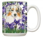 Australian Shepherd Mug 15 Ounces