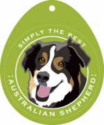 Australian Shepherd Sticker 4x4""