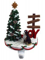 Australian Shepherd Stocking Holder Hanger Tri Color