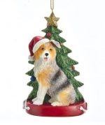Australian Shepherd Tree Ornament