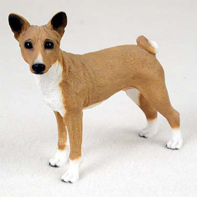basenji gifts merchandise items figurines ornaments stickers magnets