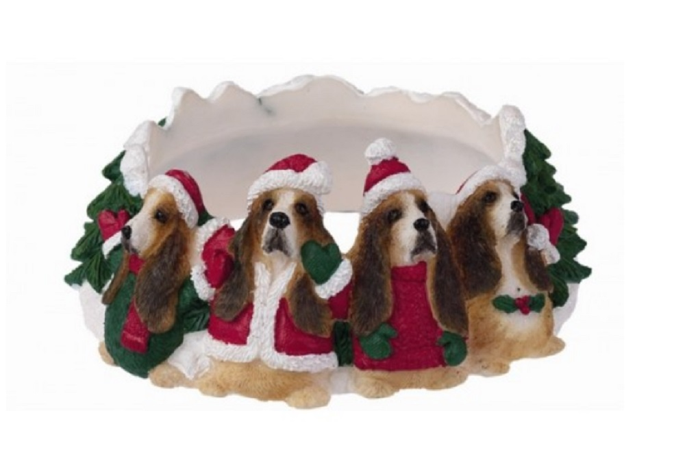 Basset Hound Candle Topper