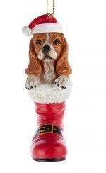 Basset Hound Boot Ornament