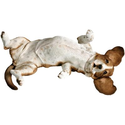 Basset Hound Figurine Sandicast Original Size