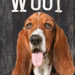 Basset Hound Sign – You Had me at WOOF 5×10 1