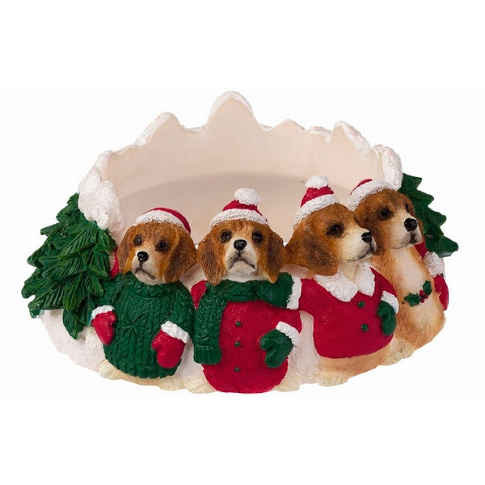beagle-christmas-candle-holder